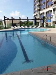 Apartamento com 3 quartos, andar alto, vista mar, Condomínio Jardins de Atlântida