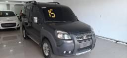 Fiat Doblo Adv. 2015 Flex/Gnv 1.8 E-torque 8-Lugares, Nova !!