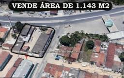 Excelente Área a venda de 1.143 m2, para investidores na Serraria