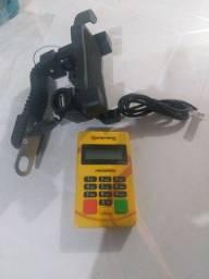 Suporte celular para moto/bicicleta c/ usb