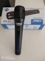 Microfone novo com fio 1.5 m