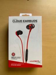HyperX Cloud Earbuds (nunca usado)