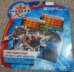 Kit de Cartas Bakugan Battle Brawlers - Produto novo e lacrado