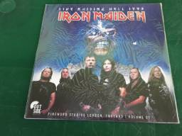 Vinil lp iron maiden live raising hell 1993