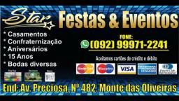 Aluguel e combos STAR FESTAS ? 450,00