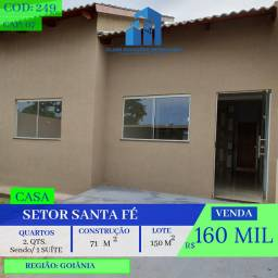 Casa De 2 Quartos - Santa Fé - Goiânia