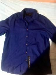 Camisa social calvin klein ck