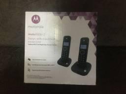 Telefone Sem Fio com 1 Ramal Motorola