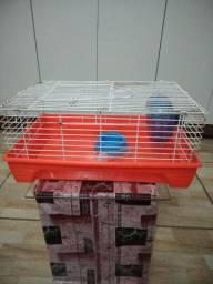 Vendo gaiola media para hamster