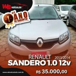 Renault Sandero Authentic 1.0 12v SCE - Carro Extra