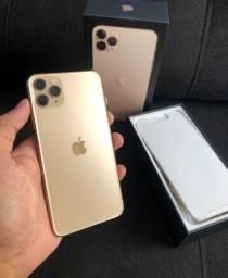 iPhone 11 Pro Max Dourado 64 GB Seminovo