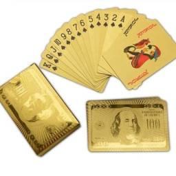 Baralho dourado/prata