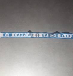 Faixa de cabeça Bi campeão Gaúcho Grêmio