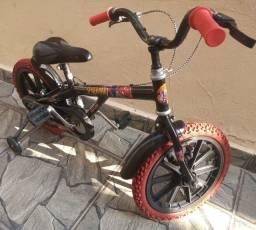 Bicicleta Caloi aro 16 Homem Aranha