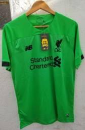 Camisa Liverpool 2019/2020 New Balance Gk