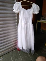 Vendo vestido para primeira comunhão, crisma ou dama de honra