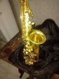 Sax alto connif. 1600 aceito troca em piano