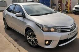 Toyota Corolla GLi 1.8 CVT, ano 2017 completo...
