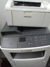 Impressora para retirada de peça ou reparo