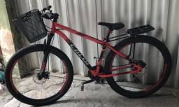Bike Caloi Aro 29, 21 marchas, alumínio