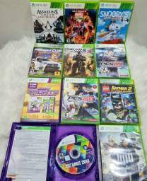 Jogos originais Xbox 360.