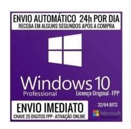 Windows 10 Pro + Office 2019 Pro Plus Chave Original e Vitalício