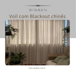 Título do anúncio: Voil com blackout chinês 5