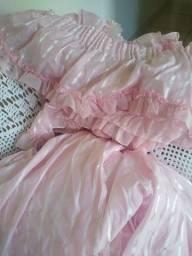 Vendo cortina  Rosa (LEIA O ANUNCIO)!!!