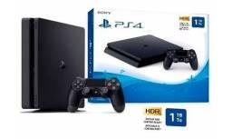 Título do anúncio: !!!Imperdível - Playstation 4 Slim C/3 Jogos Novo Lacrado com 1 Ano de Garantia!!