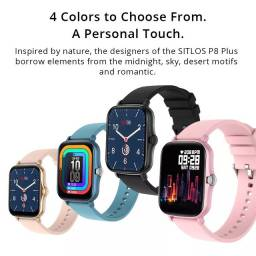 Smartwatch Sitlos 2020 relógio inteligente p8 plus