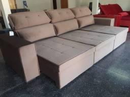 Sofá Retrátil Super Conforto