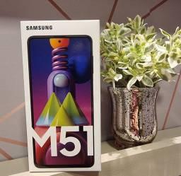 Samsung Galaxy M51 Preto Novo