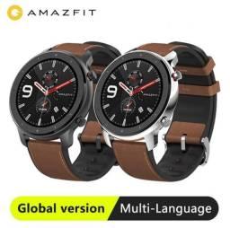 Relógio Xiaomi Amazfit Gtr 47mm - Grafite / Prata