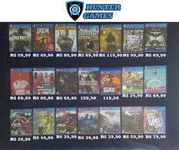 Jogos para Playstation 4 (PS4) Seminovos com Parcelamento em até 12x Sem Juros e garantia