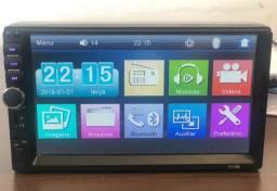 Dvd Automotivo Kit Multimídia Axxor 2 Din 7 polegadas +Câmera Ré   +Grátis Smartwatch