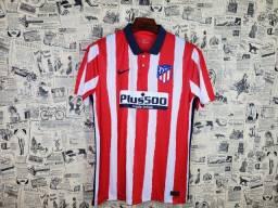Camisa Atlético de Madrid Uniforme I 2020 2021