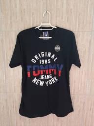 Camisas Camisetas Masculina 100% algodão 30.1 Penteado