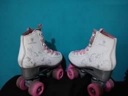 Patins feminino Quad roller 33-34