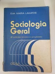 Livro de sociologia geral