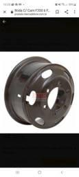 Desapego de Lote de rodas de ferro aro 16 com friso para uso de pneu com câmara