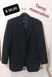 Terno masculino Ângelo Bertoni preto