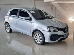 Título do anúncio:   Etios Hatch Xplus 1.5 automático  Único dono com apenas 28.000 km rodados