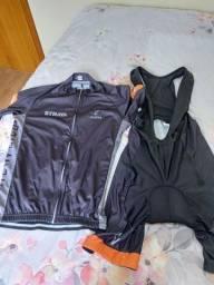Conjunto de ciclismo.