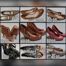 Sapatos femininos desapego