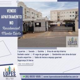 Vendo Apartamento no Residencial Monte Carlo!