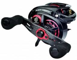 OFERTA IMPERDÍVEL, 35%OFF! LUBINA B.WIDOW GTS(Direita)11 rol.+ Fishing Grip.Novo na cx!