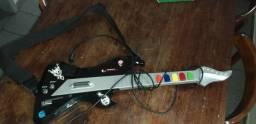 Guitarra para jogar no Vídeogame