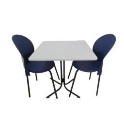 Título do anúncio: mesas e cadeiars ideal para salao de festa, refeitorio,cozinha industrial, buffet