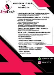 Snotech (Assistência Técnica em PCs/Notebooks)