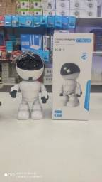 Mini robô 007 com visão noturna e câmera ip